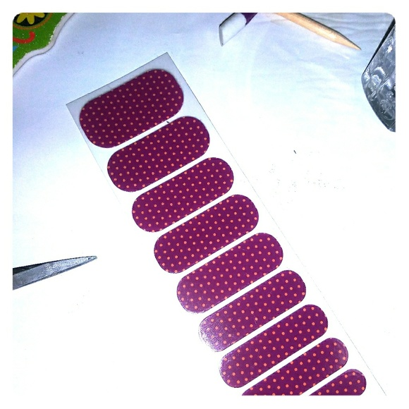 Jamberry Other - Jamberry nail wraps pomegranate pop